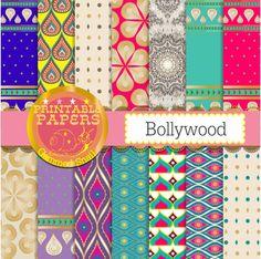Sari digital paper 14 'Bollywood backgrounds sari by GemmedSnail  https://www.etsy.com/listing/168201374/sari-digital-paper-14-bollywood?ref=shop_home_active_14