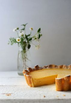 The Ultimate Lemon Tart | From The Kitchen Oh yea! #lemon + #elderflower - a perfect pair.