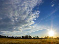 The beautiful Sun x Big Sky, Wander, Utah, Travel Destinations, Sunshine, Clouds, Places, Nature, Outdoor