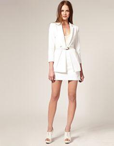 ASOS Premium White Suit
