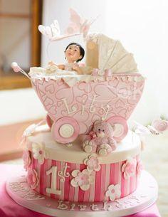 Pink Hued Dream Birthday Cake