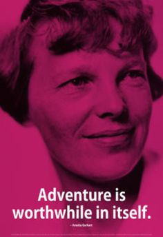Also in my book from Amelia Earhart