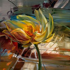 Vie Dunn Harr is an amazing floral painting artist. Her artistic abilities are focused on crafting unique oil paintings Art Floral, Modernisme, Fruit Painting, Lotus Painting, Painting Flowers, 5d Diamond Painting, Realism Art, Cross Paintings, Oil Paintings