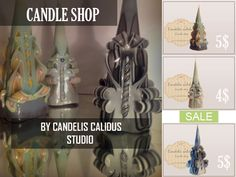 CANDLES BY CC STUDIO