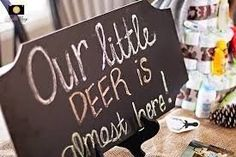 Baby Shower Signs For Girls Babyshower Front Doors 36 Ideas Baby Party, Baby Shower Parties, Baby Shower Themes, Baby Shower Decorations, Shower Ideas, Baby Shower Camo, Baby Shower Winter, Baby Boy Shower, Hunting Baby Showers