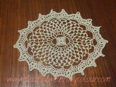 oblique crochet sample at Flushed with Rosy Colour