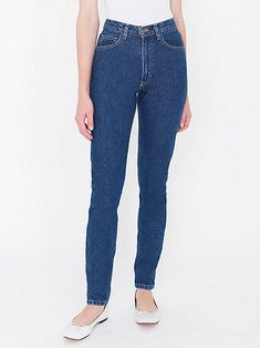 Dark Wash High-Waist Jean
