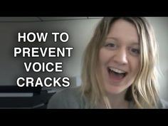 ▶ How to Prevent Voice Cracks & Voice Cracking - Felicia Ricci - YouTube
