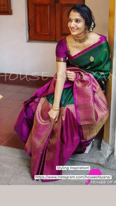 Trendy Sarees, Stylish Sarees, Fancy Blouse Designs, Bridal Blouse Designs, Stylish Kurtis Design, Saree Poses, Pattu Saree Blouse Designs, Designer Silk Sarees, Kurta Designs Women