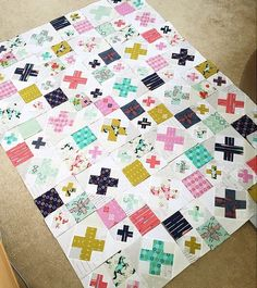 "Final Layout - ""Mustang Kiss Quilt"" 