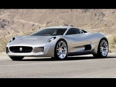 Jaguar (C-X75) Turbine-electric hybrid power-Bove&lu