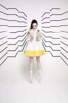 Raphaëlle H'limi Polygon Sky S/S 14 @ Pauline Darley