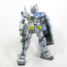 Painted Build: MG 1/100 RX-78-2 Gundam Ver. OYW - Gundam Kits Collection News and Reviews