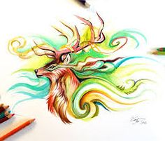 Image result for drawings deer