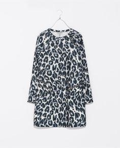 Image 6 of LEOPARD PRINT DRESS from Zara
