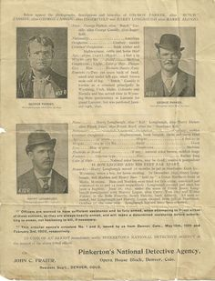 Butch Cassidy and the Sundance Kid Reward Poster