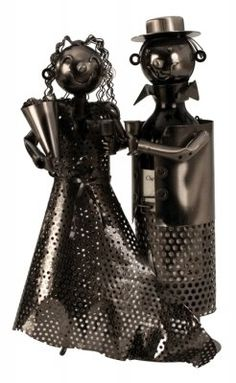 Stojan na víno  Svadobný pár