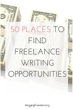 Are you a blogger that wants to make some extra money on the side? If so, check out these 50 places that pay bloggers like you to write! #freelancewriting #blogging #bloggersmakingmoney