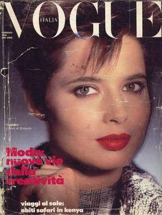 Isabella Rossellini Vogue Italia February 1984