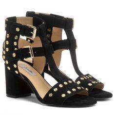 Compre Sandália Jorge Alex Salto Grosso Tachas Preto na Zattini a nova loja de moda online da Netshoes. Encontre Sapatos, Sandálias, Bolsas e Acessórios. Clique e Confira!