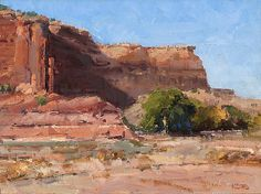 Morning in Canyon de Chelly by Kathryn Stats - Greenhouse Gallery of Fine Art