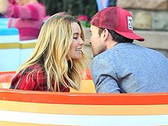 Lauren Conrad And Fiancé William Tell Prove You're Never Too Old To Ride The Teacups [Photos]