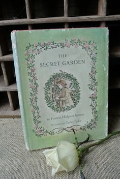 Vintage The Secret Garden Book Illustrated by Tasha Tudor-Loved this book!  Gave it to my teacher as a gift one year at the end of the school year, but soo hated to part with it!  ;)