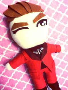 Kpop Suju Siwon plushie plush toy doll Mamacita MV by kirbychan. For more super junior and fanmade kpop goodies please visit my etsy store!