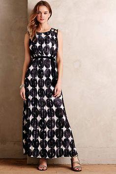 Inkwash Maxi Dress - #anthrofave