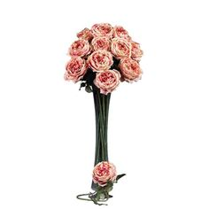 """I pinned this 31"""" Eternal Stem Rose in Pink - Set of 12 from the Happily Ever After event at Joss and Main!"""