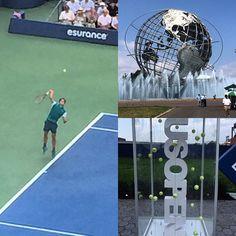 Let's go @rogerfederer! #usopen #tennis #yaysports