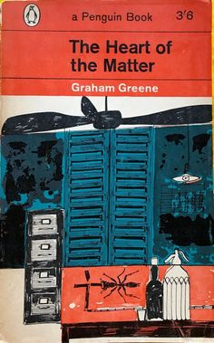 The Heart of the Matter by Graham Greene vintage paperback 1962 FREE AUS POST Sleepy Bear, Vintage Penguin, Graham Greene, Penguin Books, Penguins, Free, Book Covers, Google Search, Heart