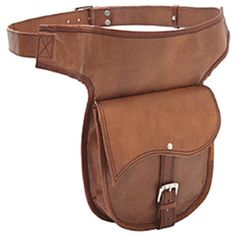 This hip bag or fanny pack is crafted of quality leather. It features an adjustable belt for added convenience. Roomy pouch with snap closure Zippered compartment Brand: Sharo Genuine Leather Bags Qua