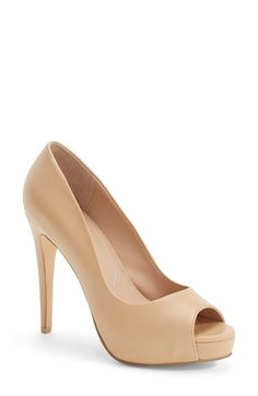 Free shipping and returns on Charles by Charles David 'Fox' Platform Peep Toe Pump (Women) at Nordstrom.com. A leg-lengthening platform pump features a lightly padded footbed so you can make a statement without sacrificing comfort.
