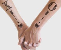 Increíbles tatuajes que puedes hacerte con tu persona favorita