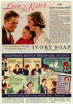 Love & Kisses for Baby-Clear Skin 1935