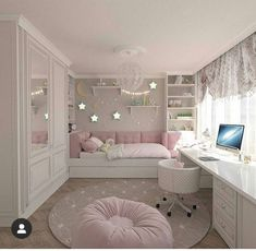 Bedroom themes for Girls. Bedroom themes for Girls. 42 Best Disney Room Ideas and Designs for 2016 Cute Bedroom Ideas, Room Ideas Bedroom, Bedroom Furniture, Bedroom Decor, Bedroom Designs, Teen Bedroom, Tiny Girls Bedroom, Modern Bedroom, Bedroom Romantic