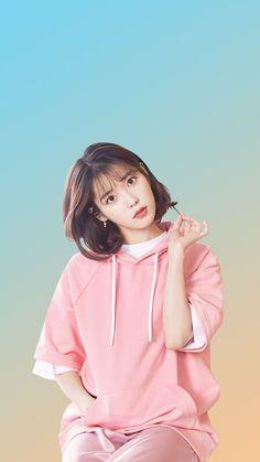 IU 💕 | Lee Jieun Korean Beauty Girls, Cute Korean Girl, Asian Beauty, Asian Girl, Iu Short Hair, Iu Hair, Short Hair Styles, K Wallpaper, Korean Celebrities
