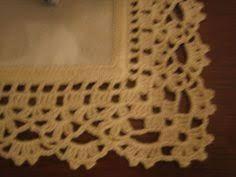 Resultado de imagem para barras em croche para toalhas de nesa com grafcos