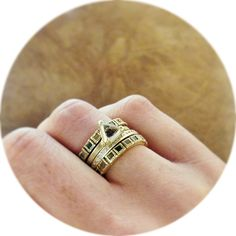 Having fun mixing and matching today with @Dawes Design and @Todd Reed Jewelry! #showmeyourstack #ringparty #rawelegance #diamonds #yellow #gold #mixandmatch #maxsjewelry #minneapolis