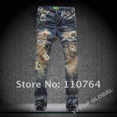 Men's Designer Jeans On Sale | MENS DESIGNER RIPPED COOL POCKET ...
