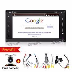 Quad Core Android 6.0 Car Dvd Headunit Radio for Toyota Hilux Gps Navi Bluetooth Wifi 3g Obd Fm Am Radio Car Dvd Player