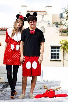 Halloween couple costume! Cute.