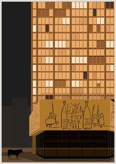 ARCHIZOO BCN - federico babina My World Of Work, My Room, Busquets, Illustration, Arch, Pablo Picasso, Home Decor, Architecture, Barcelona