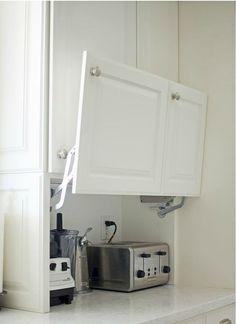 Nice 60 Ingenious Hidden Kitchen Cabinet & Storage Solutions https://homevialand.com/2017/06/22/60-ingenious-hidden-kitchen-cabinet-storage-solutions/