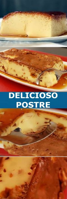 Mexican Food Recipes, Sweet Recipes, Dessert Recipes, Flan Recipe, World Recipes, Fabulous Foods, Chocolate Desserts, Baking Recipes, Food And Drink