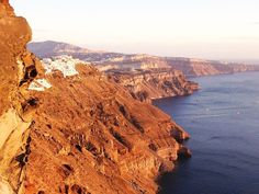 Iconic Santorini - Greece Carved into the wall of... | Luxury Accommodations