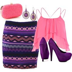 """""""clubbing"""" by softballbrit on Polyvore"""