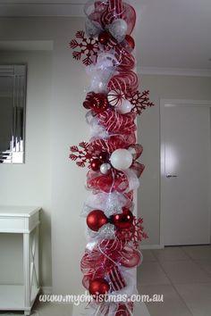 Resultado de imagen para columnas navideñas