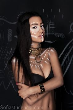 Model & Makeup: Olivia Mbatha --- Set Designer: Drazen Kuljanin